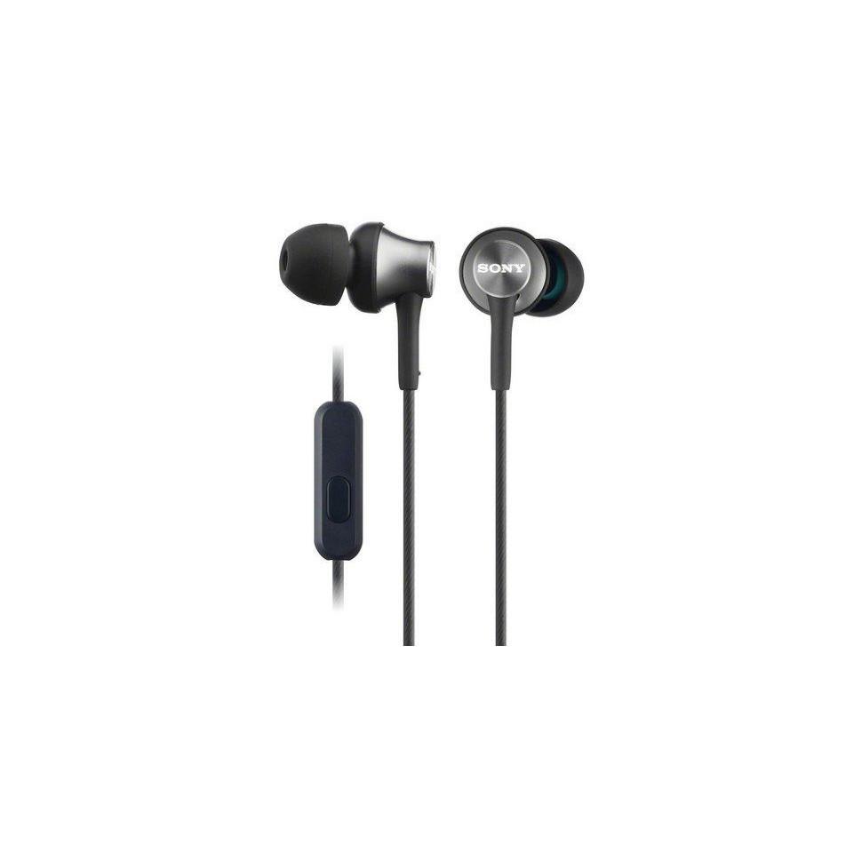 Наушники-гарнитура Sony Extra Bass MDR-XB650MT (Черный)