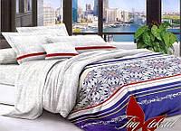 Двуспальный комплект постельного белья с Узорами, Поликоттон