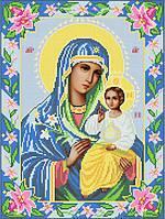 Икона НЕУВЯДАЕМЫЙ ЦВЕТ схема вышивки бисером ТМ Ангелика