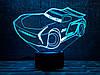 """3D светильник ночник """" Автомобиль 25  """" 3DTOYSLAMP"""