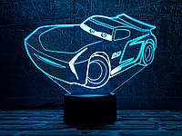"""3D светильник ночник """" Автомобиль 25  """" 3DTOYSLAMP, фото 1"""