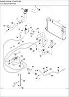 02-03 СИСТЕМА ДЕАЕРАЦІІ - система деаэрации - deaeration system - трактор Case Magnum 335 - всі запчастини - все запчасти