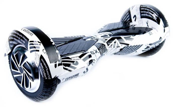 """Гироскутер Smart Balance гироцикл 8""""  фэшн принт с приложением Tao-Tao App и самобалансом, фото 2"""