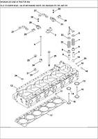 02-21 ГОЛОВКА ЦИЛІНДРІВ - КЛАПАННИЙ МЕХАНІЗМ MX275, 305, MAGNUM 275, 305, AND 335 - головка цилиндров клапанный механизм - cylinder head - valve