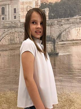 Блузка в школу для девочки р.116-150, фото 2