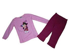 Костюм для дівчинки рожевомалтновий зріст 86/92 см 0122875 TMLauras Stern