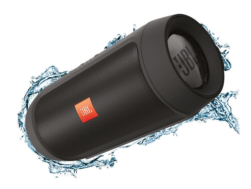 Беспроводная Bluetooth портативная влагозащищенная колонка JBL Charge 2+