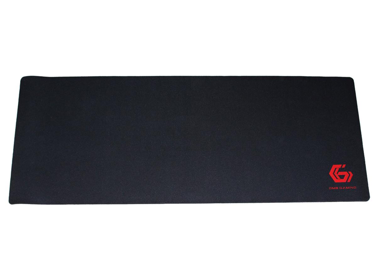 Коврик Gembird MP-GAME-XL игровой, ткань, черный цвет