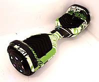 """Зеленый граффит Гироцикл Smart Balance с подсветкой колес Самобаланс 6.5"""""""