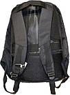Рюкзак Bobby антивор usb  47x30x13 см  , фото 2