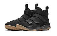 Баскетбольные кроссовки Nike LeBron Soldier XI 11 Black Gym, фото 1
