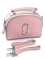 Женская сумка чемоданчик светло-розовая 608G, фото 1