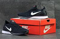 Мужские кроссовки Nike найк  темно-синие- Текстильная сетка, подошва пена,размеры:41-45 Вьетнам  , фото 1
