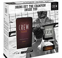 Набор American Crew Champions Edition Swimming 3-in-1+ Molding Pomade Kit