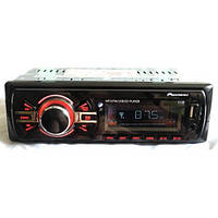 Магнитола автомобильная 1138 ISO (MP3 + USB флешка + SD карты памяти), Автомагнитола  Pioneer, Магнитола 1 din