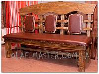 Диванчик деревянный под старину