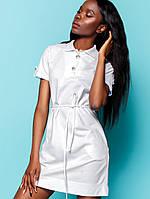 Женское летнее платье из ткани лакост (Тарина jd)  776ec968bbc83