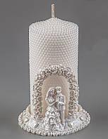 Свадебная свеча Пара 13 см 004Q