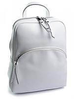 Кожаный женский рюкзак A-1198-1 белый, фото 1