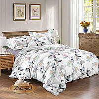 Комплект постельного белья полуторный, 150*220, сатин TM KRISPOL, Бесплатная доставка