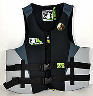 Жилет Body Glove Stealth XL/2XL чорно-сірий/неопрен