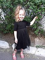 Платье на девочку с евро-сеткой  ндев299, фото 1