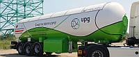 Полуприцеп-цистерна LPG 48 м3 производства EVERLAST для перевозки газа