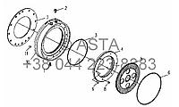 Рабочий тормоз на YTO X704