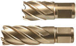 Корончатые (кольцевые) фрезы ALFRA HSS-Co-Eco с глубиной сверления 25 мм