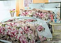 Полуторное постельное белье полиСАТИН 3D (поликоттон) 8511953