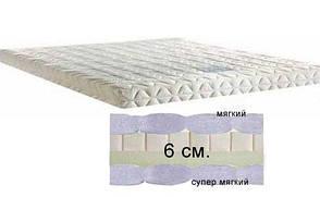 Тонкий матрас Matroluxe Футон-7 150x200 см (61210), фото 2