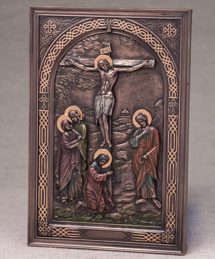 Картина Распятие Иисуса (15*23 см) Veronese Италия 76555A4