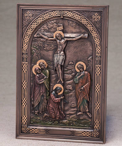 Картина Распятие Иисуса (15*23 см) Veronese Италия 76555A4, фото 2