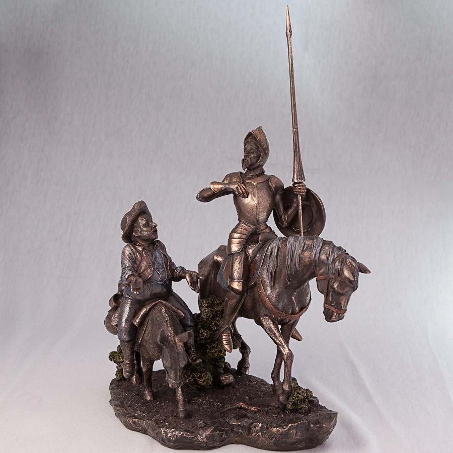 Статуетка Дон Кіхот і Санчо Панса Veronese Італія (31 см) 75196 A4