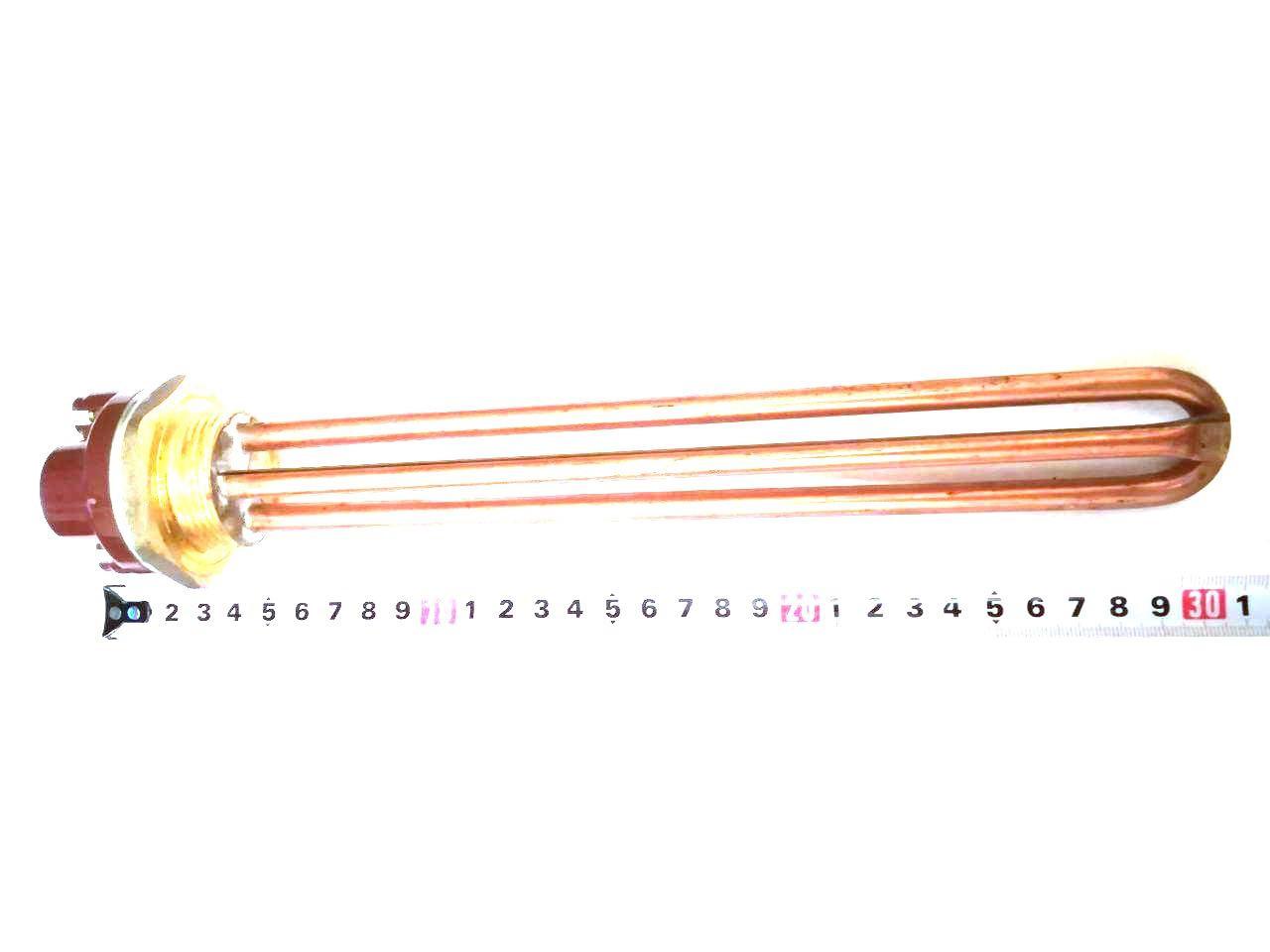 Тэн прямой резьбовой для водонагревателей 2000W  / L=265мм