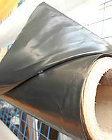 Пленка черная на метраж 150мкм, 6м ширина, строительная, для мульчирования.