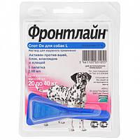 Фронтлайн Спот Он монопипетка для собак 20-40 кг, L
