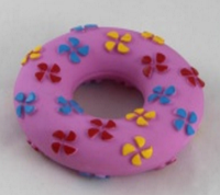 Кольцо виниловое для собак, 11х3,5 см.