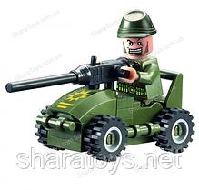 """Маленький набор конструктора для детей """"Авто-пулеметчик"""""""