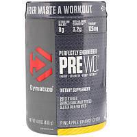 Dymatize Nutrition, Pre-WO., Pineapple Orange Crush, 14.11 oz (400 g)