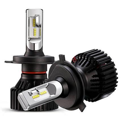 Светодиодная лампа T8 цоколь H4, GSP, 6500К, 8000 lm 30W, 9-32В, фото 2