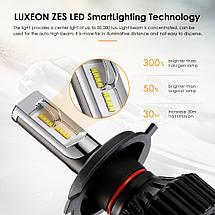 Светодиодная лампа T8 цоколь H4, GSP, 6500К, 8000 lm 30W, 9-32В, фото 3