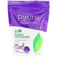 Pyure, Смесь органической стевии, универсальный подсластитель в гранулах, 16 унц. (454 г)