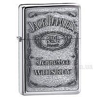 Зажигалка бензиновая Jack Daniels Pewter Emblem ZC79250427