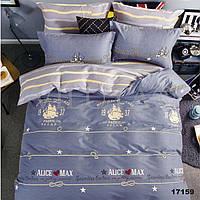 Комплект постельного белья ранфорс 17159