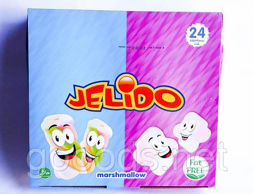 Jelido Marshmallow зефир разноцветный в пакетах 24 шт Турция