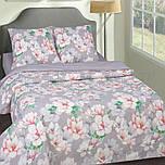 Полуторное постельное белье, Нимфа, поплин 100%хлопок
