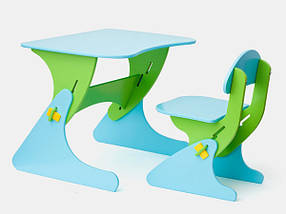 Детский комплект регулируемый стол и стульчик KinderSt-4 (SportBaby TM)