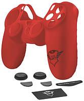 Силиконовая накладка и накладки на стики Trust GXT 745 7-IN-1 Grip Pack для PS4 PRO/Slim