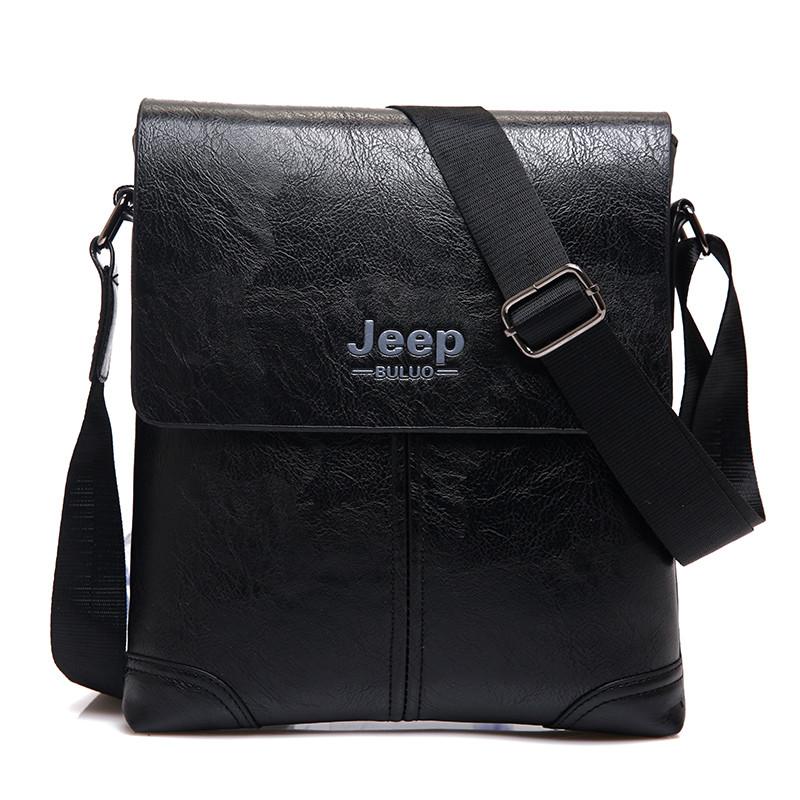 1ca89c60f43d мужская кожаная сумка Jeep Buluo в категории мужские сумки и